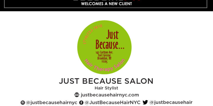 GoodGirlPR Welcomes New Client Carol Thomas of Just Because Hair Salon