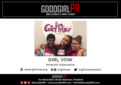 GoodGirlPR Welcomes Girl Vow!