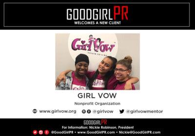 GoodGirlPR Welcomes Girl Vow!