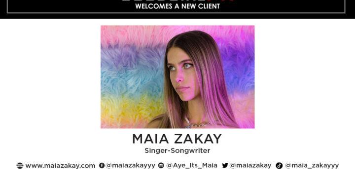 GoodGirlPR Signs Maia Zakay!